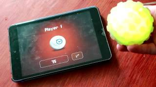Обзор игры Pass the Sphero для iPad