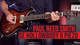 Paul Reed Smith SE Hollowbody II Piezo - Demo