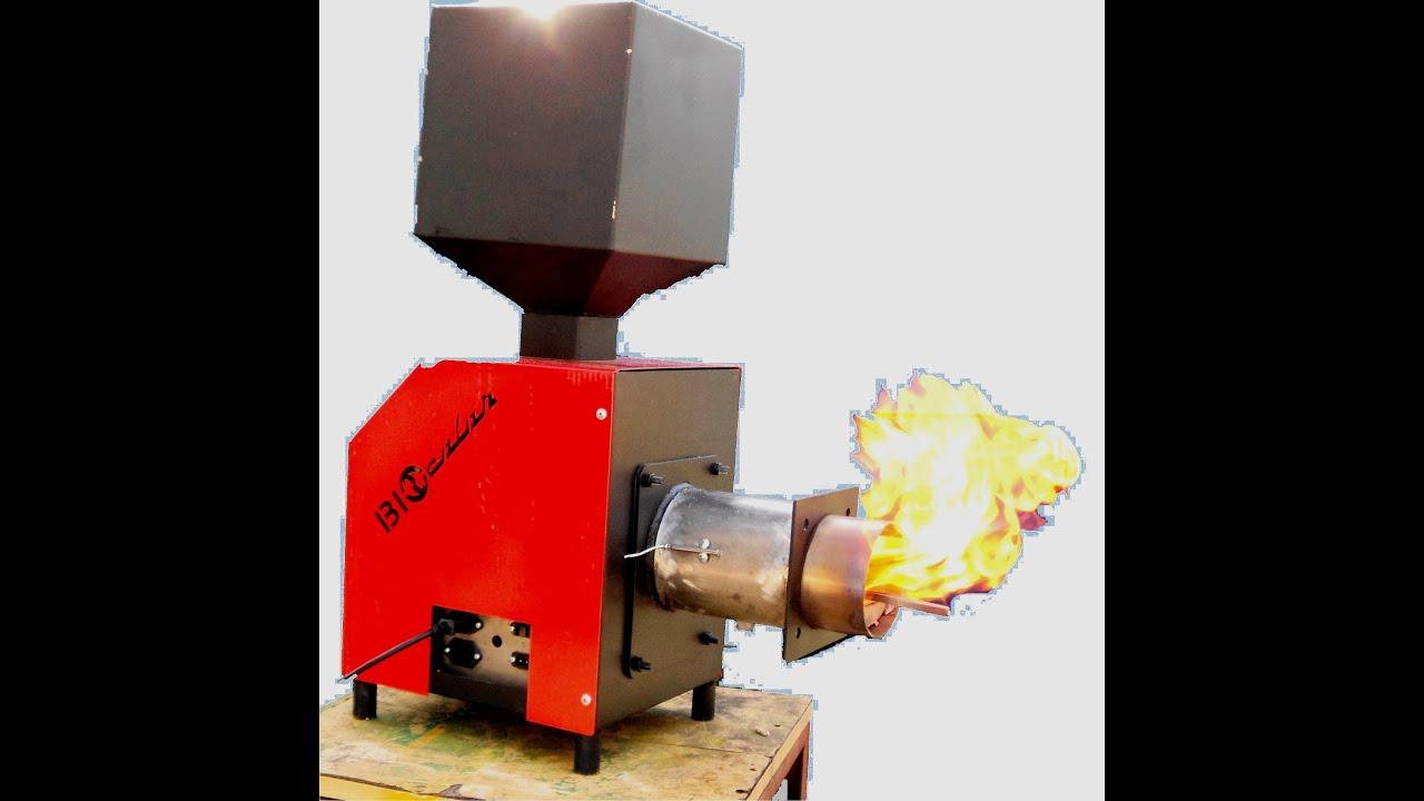 Bruciatore a pellet mais pellet burner 10000 60000 kcal for Bruciatore a pellet per forno