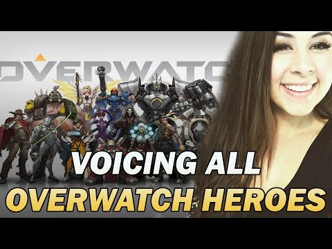 VOICE IMPRESSIONS OF ALL OVERWATCH HEROES!