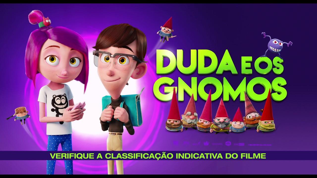 Duda E Os Gnomos Trailer Oficial Youtube