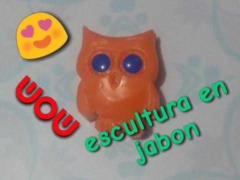 Como Hacer ESCULTURAS DE JABON Muy Facil