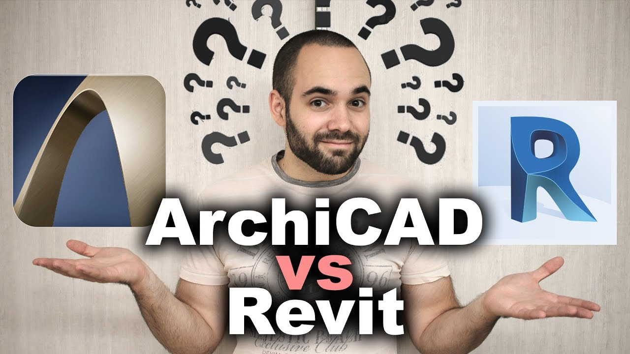 Revit VS ArchiCAD - Which is Better?!? - video CADinfo