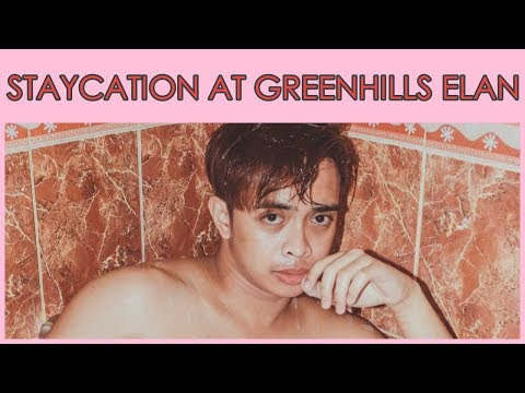 Staycation At Greenhills Elan Hotel Modern | Jonald Helito