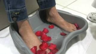 Ajuda a dor pé magnésio no