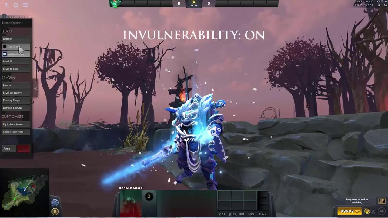 mod winter ice wraith king dota 2