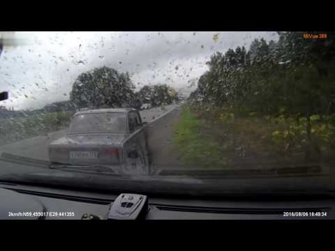 3 Teens Launched From Car Dashcam XL