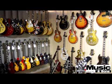 Visite du magasin Music et Sons à Juvisy sur Orge!