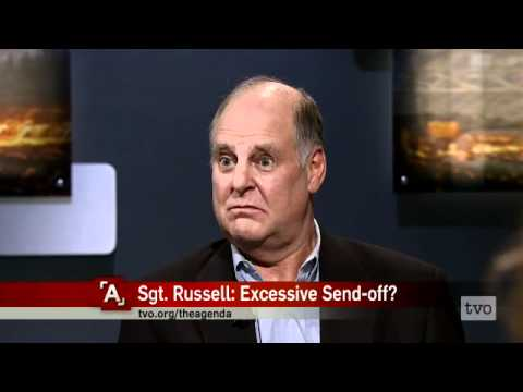 Sgt. Russell: Excessive Send-off?