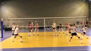 Championnat de France volley féminin Elite IFVB / TULLE 2014