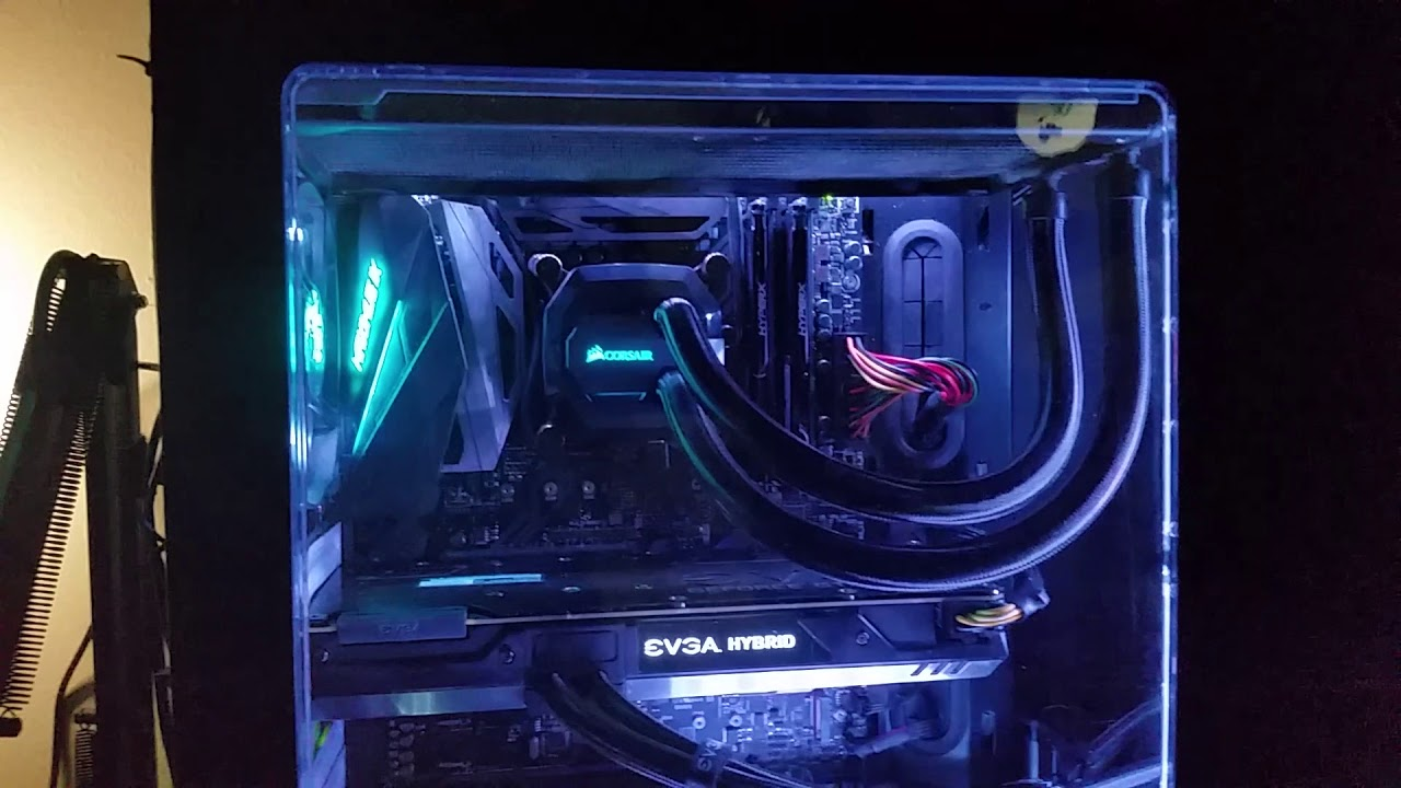 How To Disable On-Board RGB Lights When Your Computer Is Off (ASUS Maximus  IX Hero)