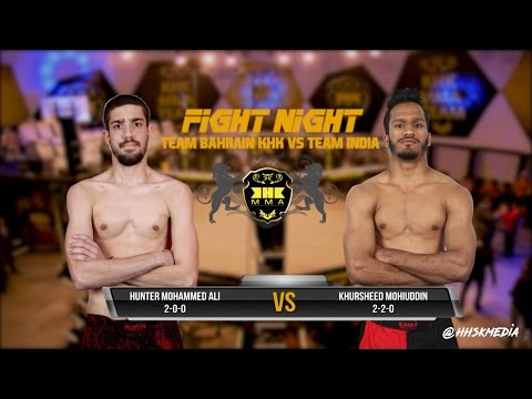 KHK FIGHT NIGHT II - Hunter Mohammed Ali VS Khursheed Mohiuddin