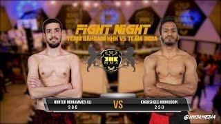 Gambar cover KHK FIGHT NIGHT II - Hunter Mohammed Ali VS Khursheed Mohiuddin