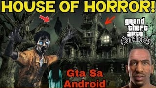 New Haunted House Mod Gta Sa android | New House Mod | New Map Mod | Yaduvanshi Technical