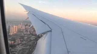 Landing Miami Boeing 787-8 Air Europa