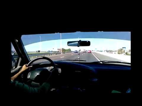 Driving on Interstate 4 W/Interstate 275 S (Mango, FL to Tampa International Airport)
