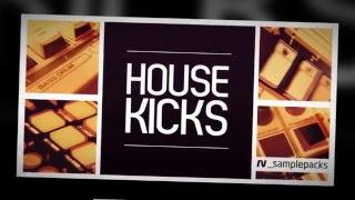 House Kicks - House Kick Drum Samples - By RV_Samplepacks