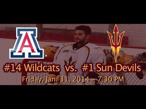 Hockey: ASU D1 vs Arizona - 1/31/14