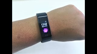 Budget Smart Band with Heart Rate/BP/Blood Oxygen (Riversong Wave O2)