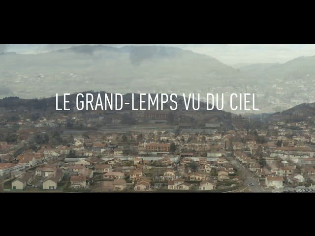 Le Grand-Lemps vu du ciel