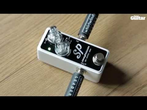 Xotic SP Compressor guitar effects pedal demo