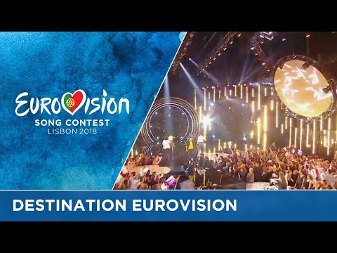 For which French artist will Eurovision be the destination?
