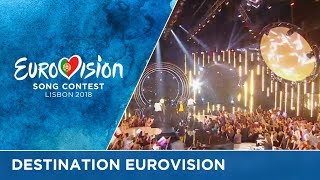 For which French artist will Eurovision be the destination