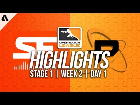 San Francisco Shock vs Philadelphia Fusion ft Poko  Overwatch League Highlights OWL Week 2 Day 1