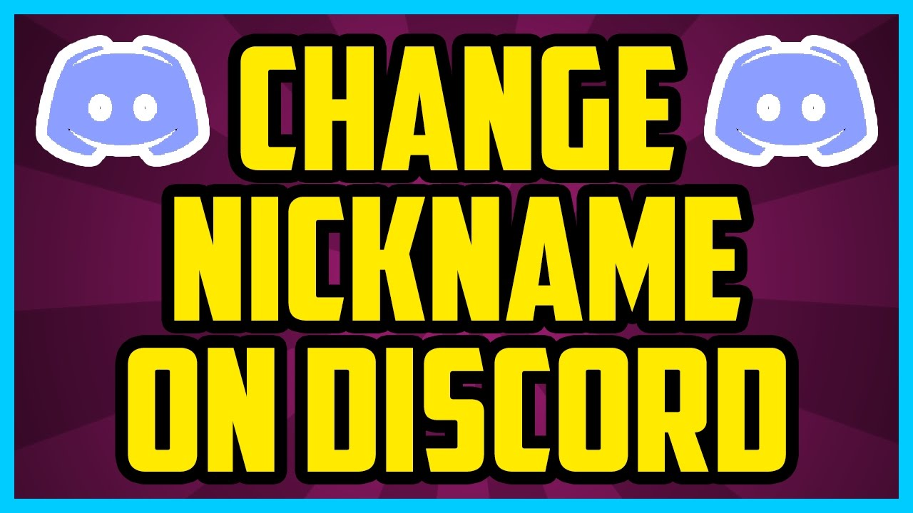 Discord How To Change Name Per Server 2017 (QUICK & EASY) - How To Change  Nickname On Discord