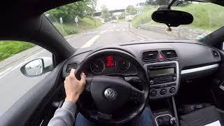 Volkswagen Scirocco III 2.0 TDI (2009) - POV Drive