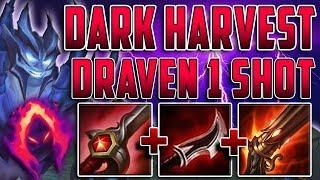 DARK HARVEST DRAVEN JUNGLE 1 SHOT EVERYTHING NEW META SEASON 8