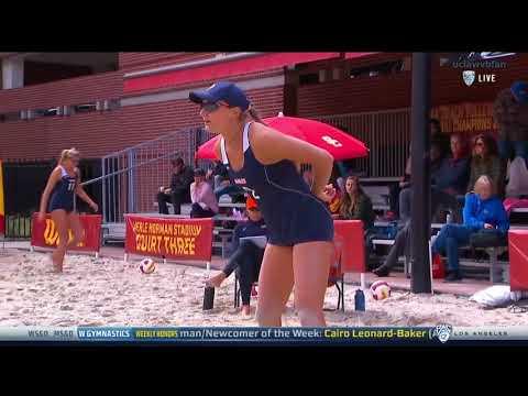 Pepperdine vs UCLA - NCAA Women's Beach Volleyball (Feb 28th 2018)