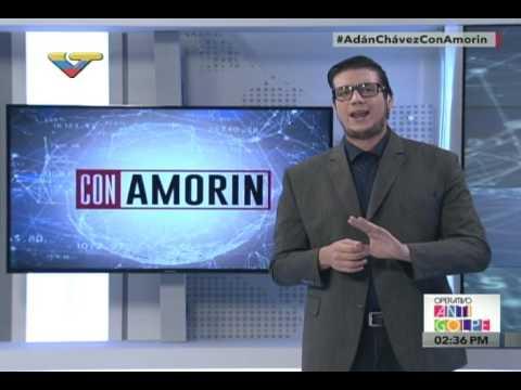 Ministro de Cultura Adán Chávez entrevistado en programa Con Amorín