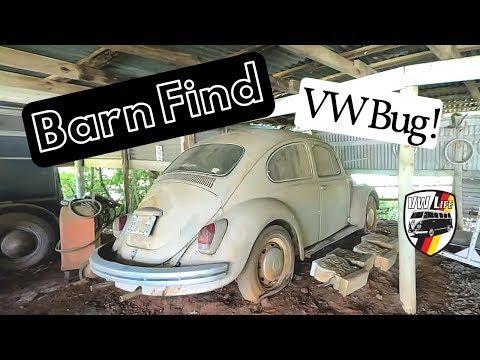 Hunting for Vintage Volkswagens!