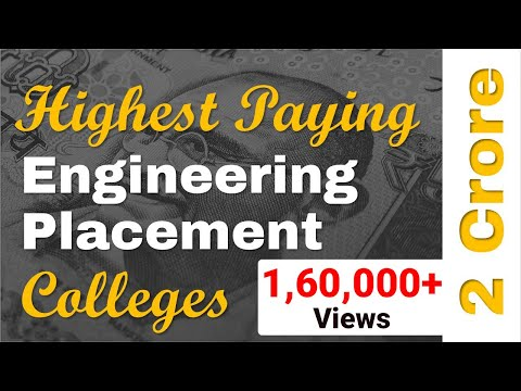 List of Best Placement Engineering Colleges in India - Branch wise