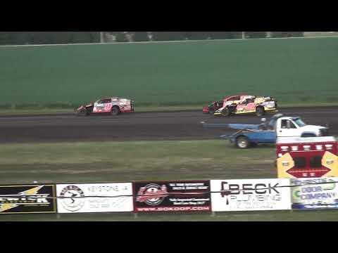 IMCA Modified Heat 3 Benton County Speedway 8/11/19