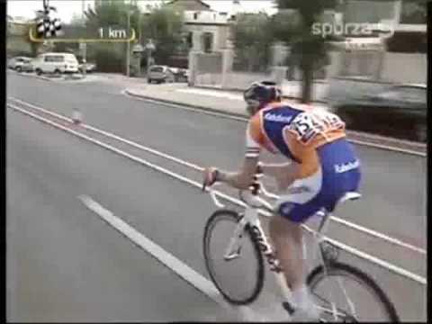 Lars Boom, winnaar van etappe 15 Vuelta 2009