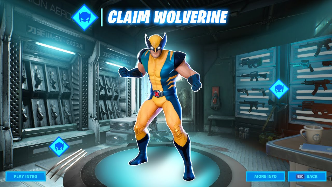 How To Get Free Wolverine Skin In Fortnite Season 4 New Youtube
