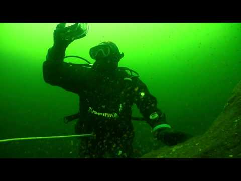 Ice diving in Ruskeala 22.04.2018