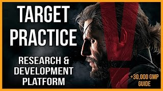 MGSV - Research & Development Platform - Target Practice Guide - The Phantom Pain