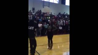 Kash Doll Performing Live At CMA High School