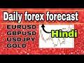 ( 23 june ) daily forex forecast  EURUSD / GBPUSD / USDJPY / GOLD  forex trading  Hindi