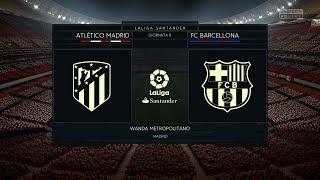 Atletico Madrid vs FC Barcelona   LaLiga 14.10.2017   FIFA 18 Predict - by Pirelli7
