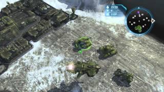 Halo Wars - Skirmish 1v1 on Heroic Part 1