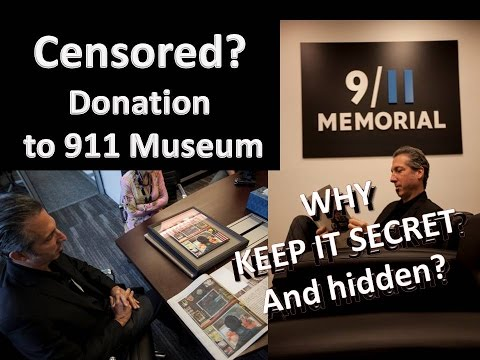 "9-11 Memorial Museum Officials Accept ""Truther Art"" Into Permanent Collection"