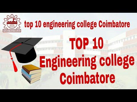 Top 10 Engineering Colleges In Coimbatore