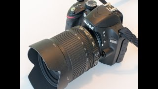Видео-обзор Nikon D3200