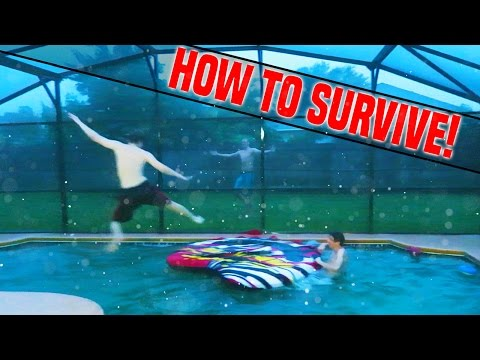 How to survive a hurricane!