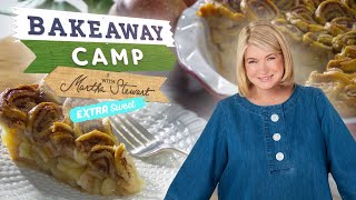 Martha Stewart Shares Her Tips and Tricks for the Perfect Pie Crusts | Bakeaway Camp: Extra Sweet