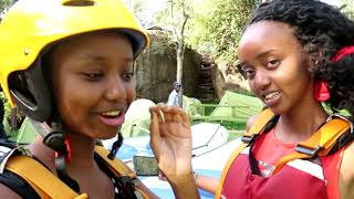 TRAVEL DIARY: JUMPING OFF OF A 40FT WATERFALL!! OH MY SELF!! lol // VLOGMAS DAY 13 // Wabosha Maxine